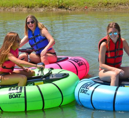 You Can Now Get Your Very Own Bumper Boat For Battles On The Lake