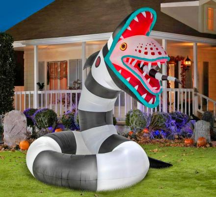 You Can Now Own A Giant Animated Sandworm From Beetlejuice
