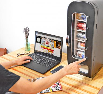 There's Now a Mini Soda Vending Machine You Can Get For Your Office
