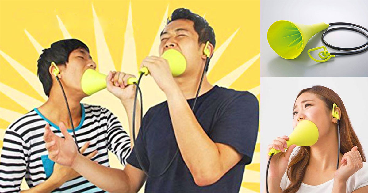 You Can Now Practice Your Karaoke Without Disturbing Others With This Silent Karaoke Mic