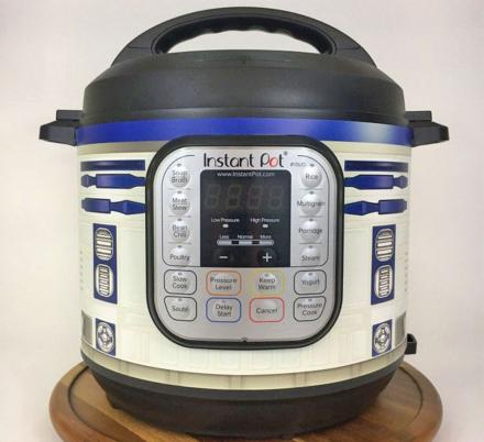 You Can Now Get a Wrap To Turn Your Instant Pot Into R2-D2