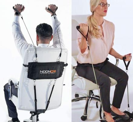 You Can Now Turn Your Office Chair Into Your Personal Gym