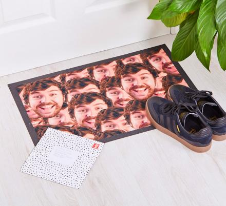 Your Face Doormat Lets You Plaster You or Your Enemies Face On Your Doormat