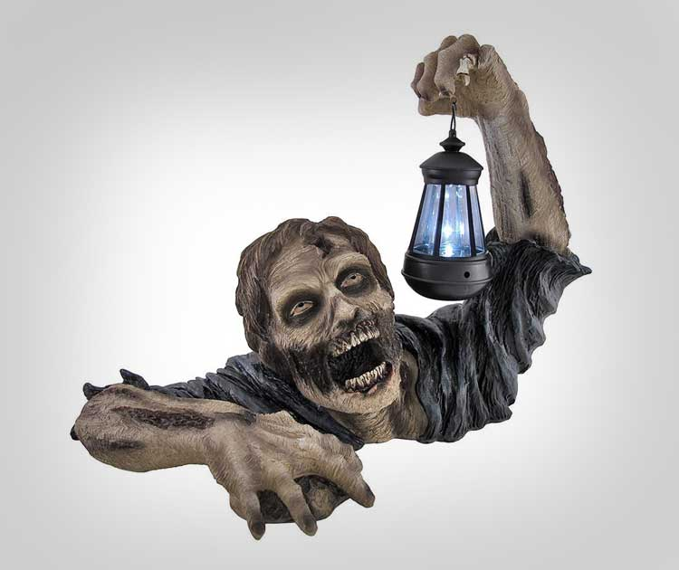 Zombie Solar Powered Light