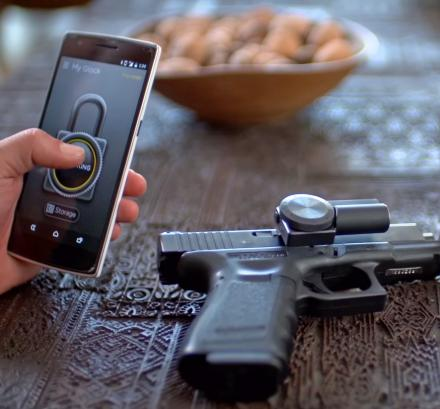Zore X Smart Gun Lock Prevents Firing Without a Code